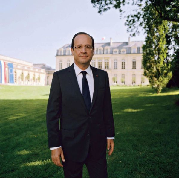 Portrait officiel Francois Hollande president de la republi