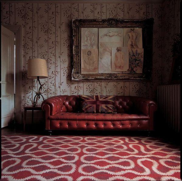 MATCH TAPIS vivienne-westwood-squiggle-orange-roomset large