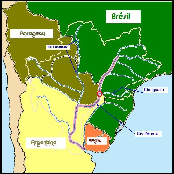 Carte Rio Parana