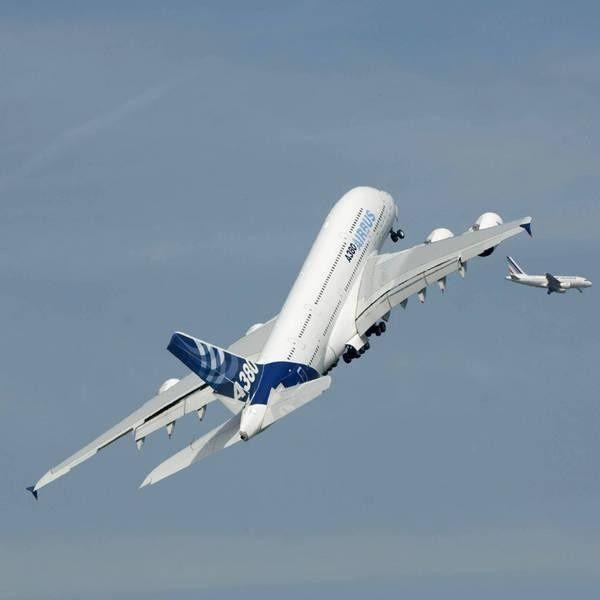 A380 Amorce montee