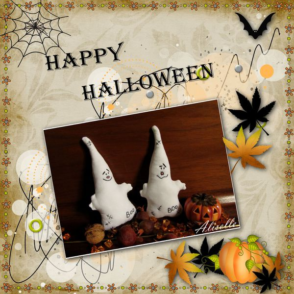 Happy Halloween Kit Octber moon