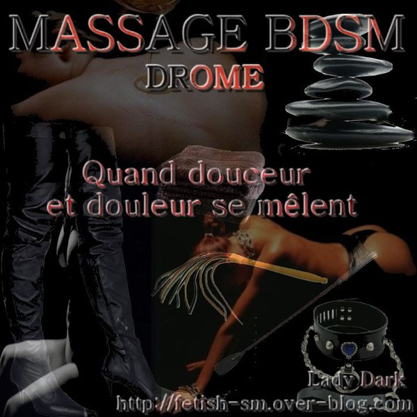 Massage BDSM par Lady Dark