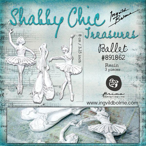ballet - 1000 - shabby chic treasures - ingvild bolme - pri