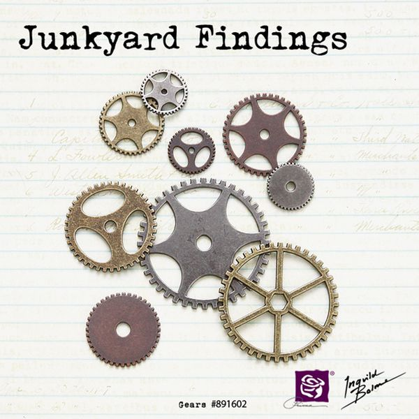 junkyard findings - clock gears - 891602 - 650 pix - prima