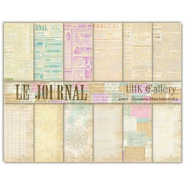 set-de-12-papiers-le-journal