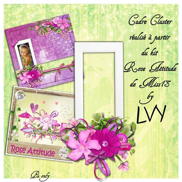 Preview cluster Rose Attitude Miss13 by Lvy