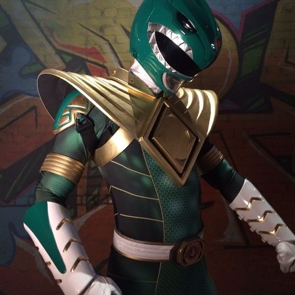New Mighty Morphin Green Ranger suit