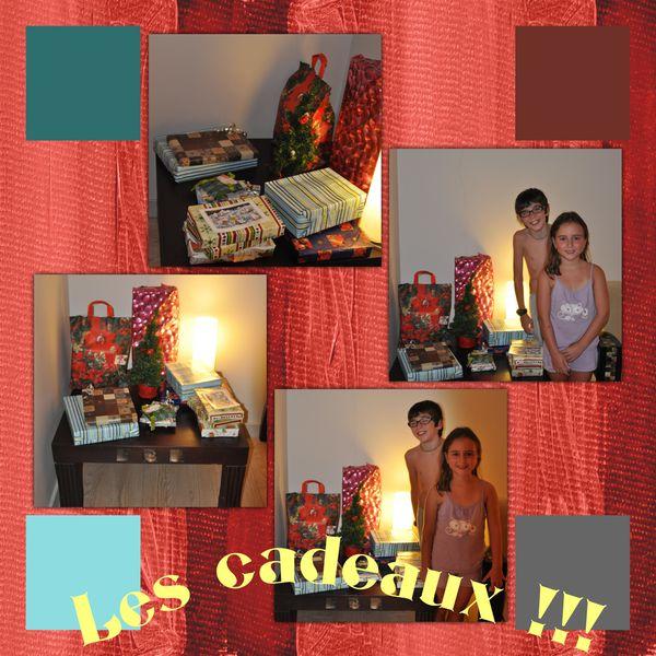 cadeaux noêl 2011