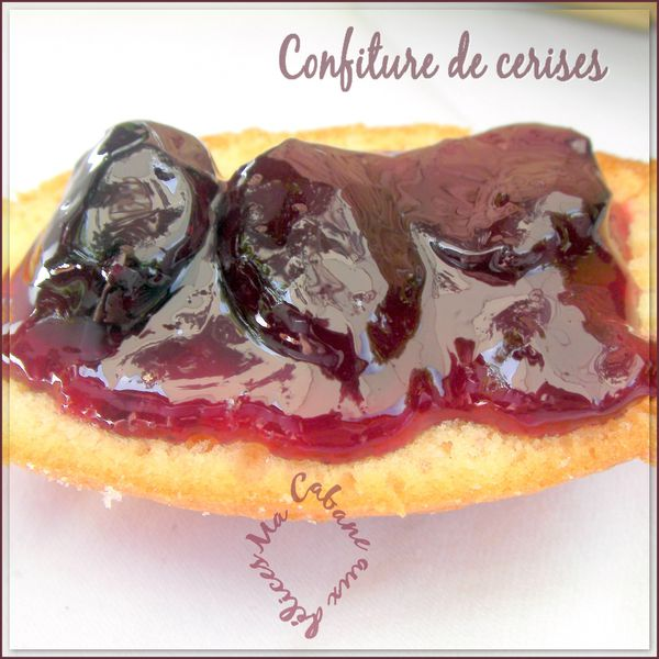 confiture de cerises photo 4