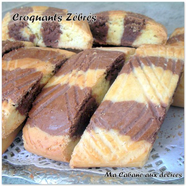 Croquants zebrés photo 3