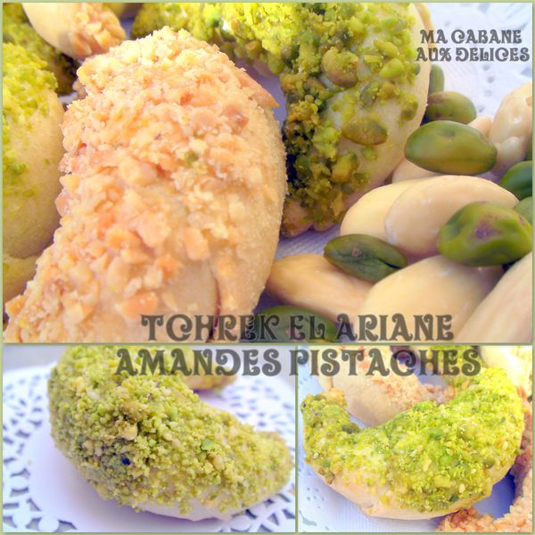 Tcherek el ariane amandes pistaches photo 3