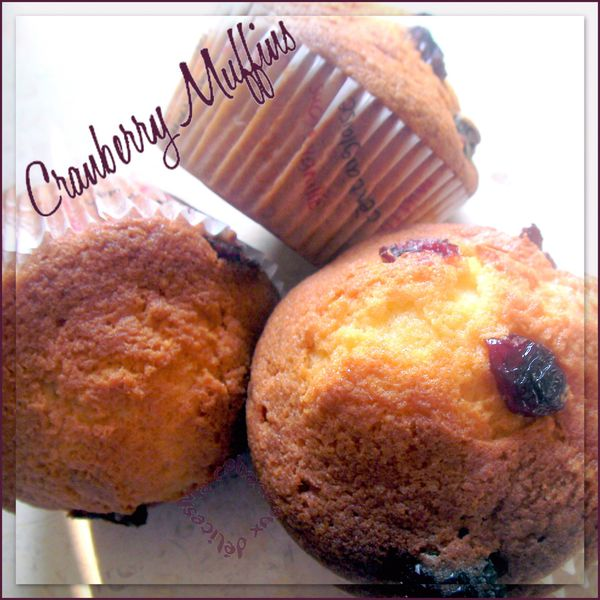 Cranberry muffins photo 4