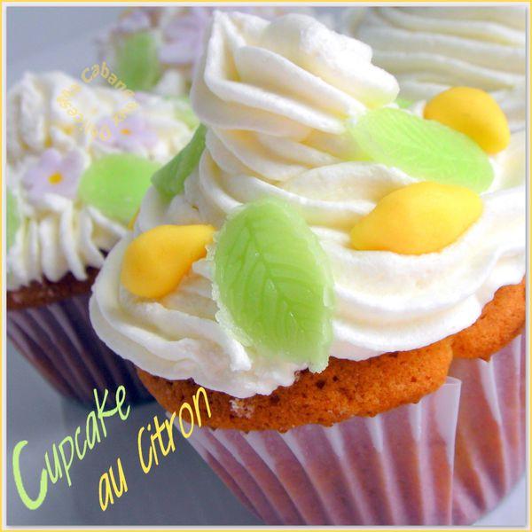 Cupcake au citron photo 2