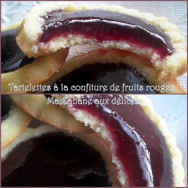 Tartelette confiture fruits rouges photo 2