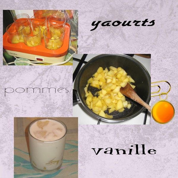 yaourts pommes