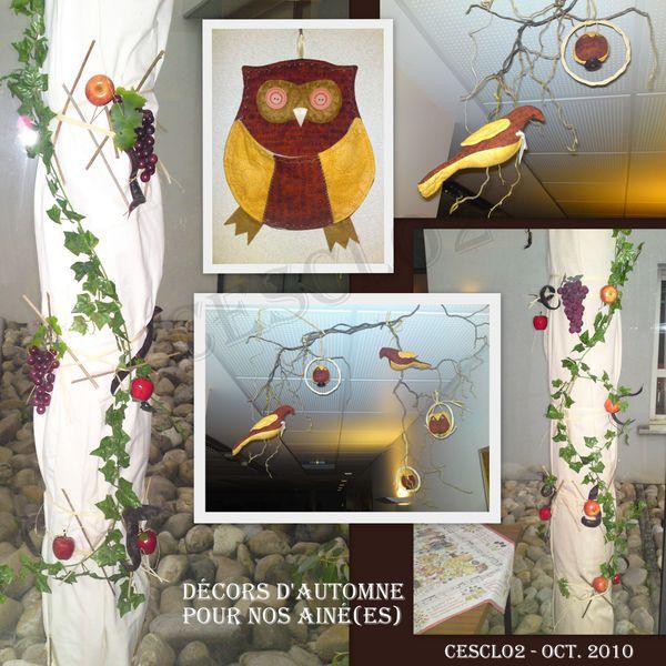 Decoration Automne Maison De Retraite