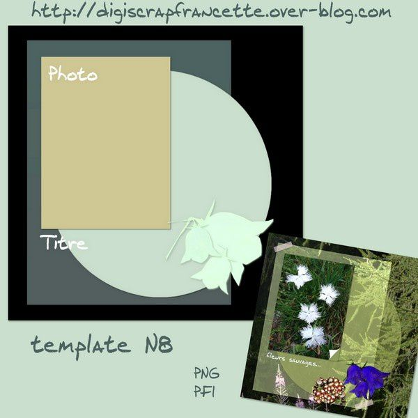 preview template N8 Francette a