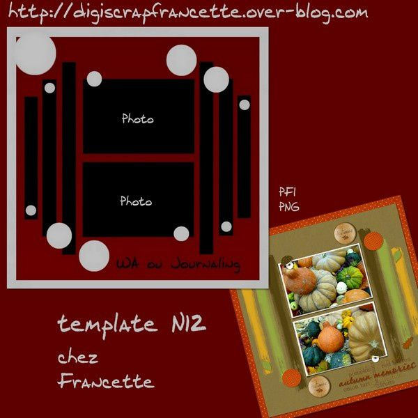 template N12 preview