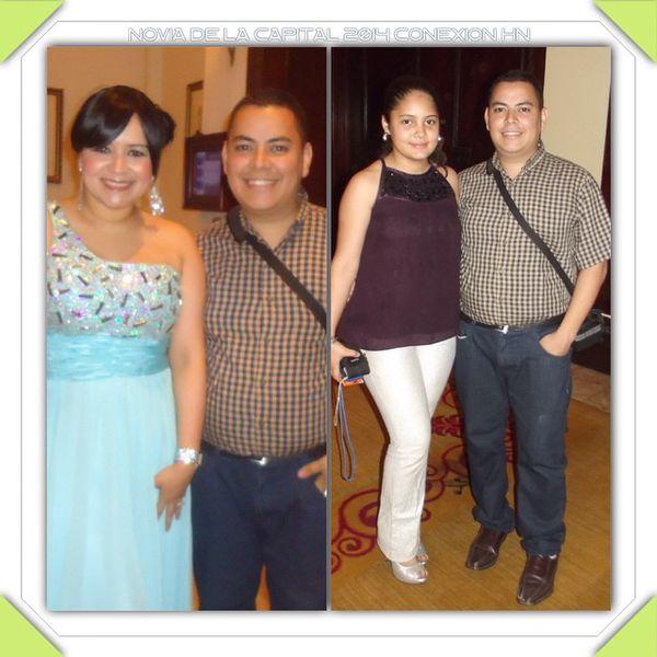 Conexion HN Novia de la Capital 2014 Erick Estrada Yessy Ru
