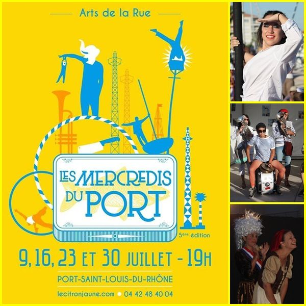 Les mercredis du port le blog de gitantroubadour - Centre medical port saint louis du rhone ...