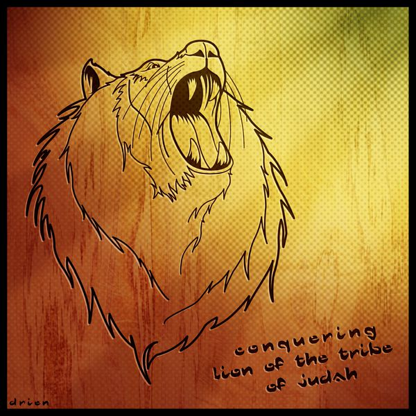 Conquering lion of the tribe of judah Conquering Lion Of Judah