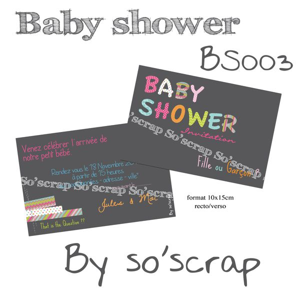 baby-shower BS003