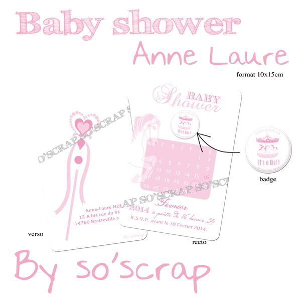 baby shower anne laure