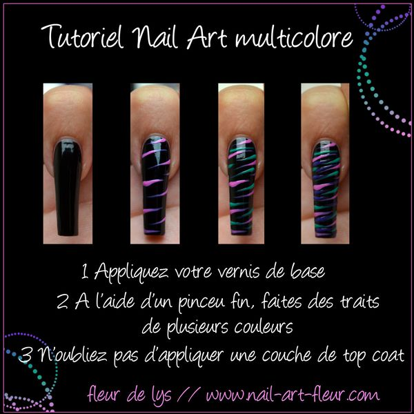 Nail Art tutoriel facile