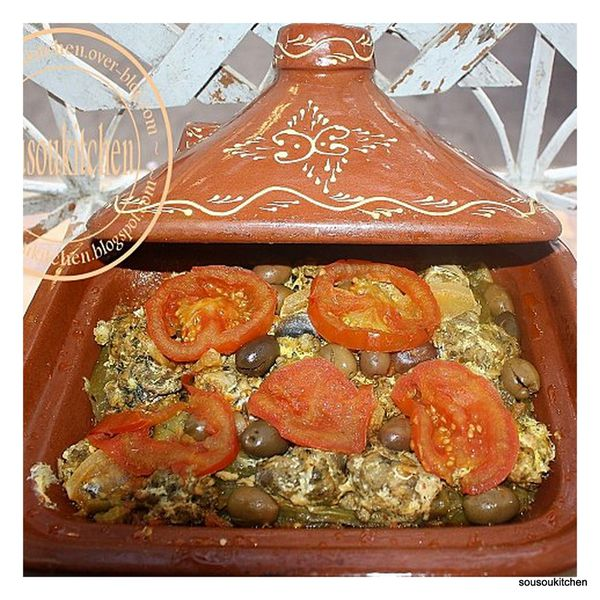 Tajine de poisson (sardine) 