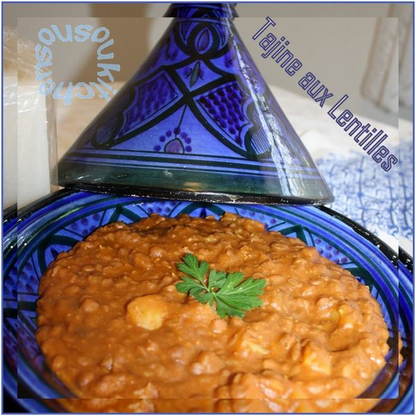 Tajine Marocain de lentille  
