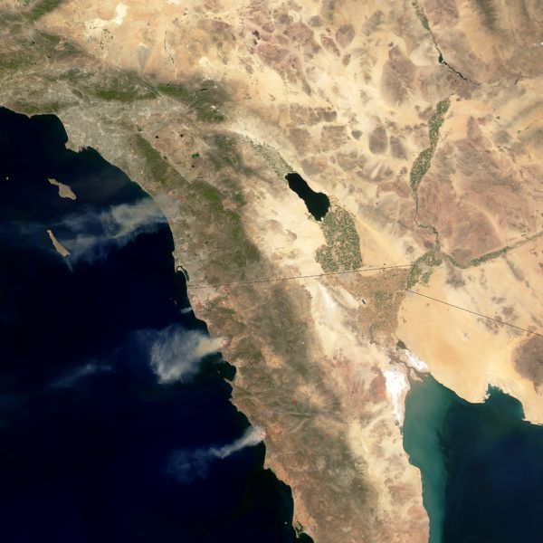 Californie - Aqua - MODIS - Fires - Mai 2014