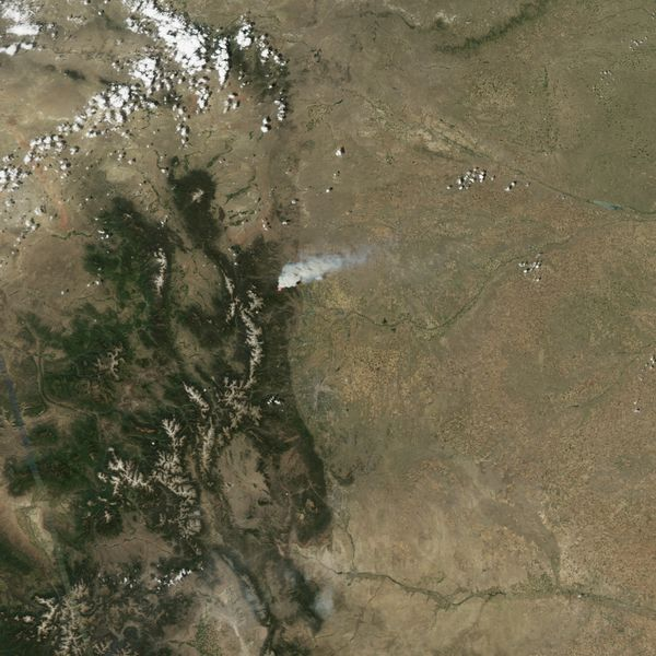 Aqua - Modis - Colorado - High Park - 09-06-2012