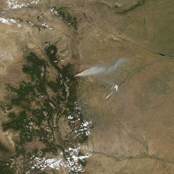 Aqua - Modis - Colorado - High Park - 10-06-2012