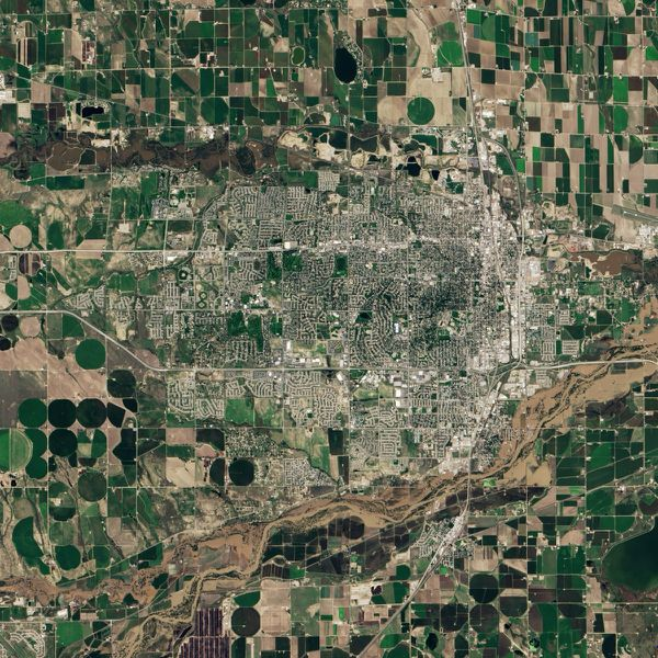 Landsat 8 - OLI - Inondations Colorado - Greeley - 17-09-20