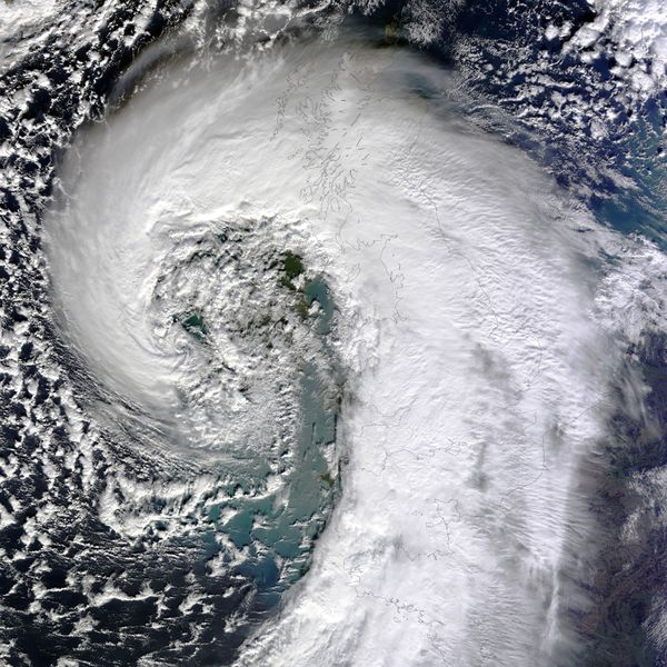 Terra - MODIS - UK storm - floods - 12-02-2014