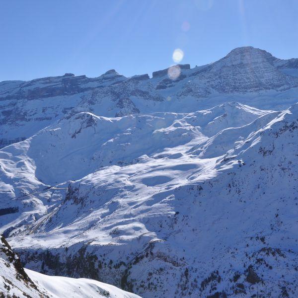 Hautes-Pyrénées - Gavarnie - Plateau Sauguet - 05-01-2013