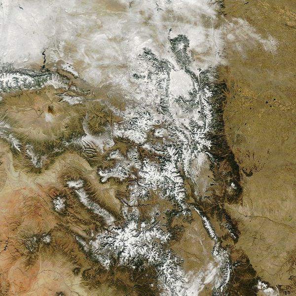 Terra - MODIS - Beaver Creek - 27-11-2011