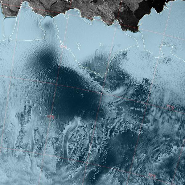 Envisat - ASAR - WSM - SS - Antarctique - 31-12-2011 - 23h5