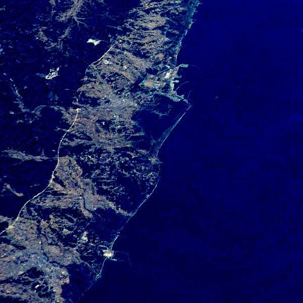 NASA - Japon - ISS - 026-034079 - Extrait-Fukushima - Un autre regard sur la Terre