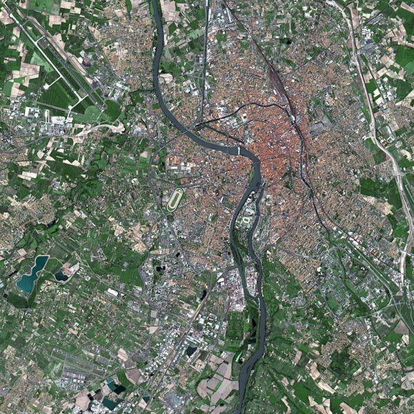 Satellite Spot 1 - Toulouse - 1986