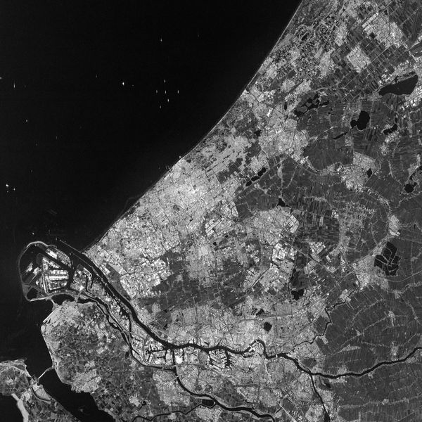 Sentinel-1A - Pays-Bas - Rotterdam - The Netherlands - 15-04-2014 - ESA