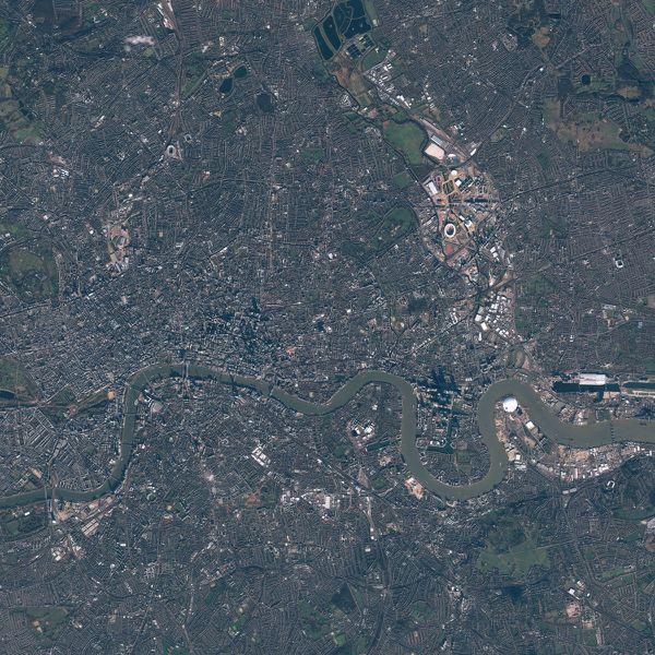 Pleiades - Londres - London 2012 - 3 février 2012 - SE10