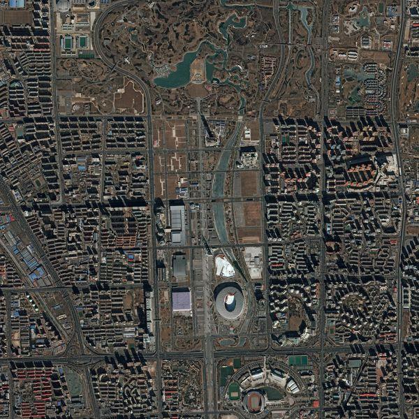 Pleiades - Pékin - Beijing - Chine - Site olympique - JO 2