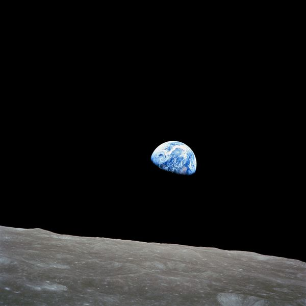 NASA - Earth Rise - Apollo 8 - as08-14-2383