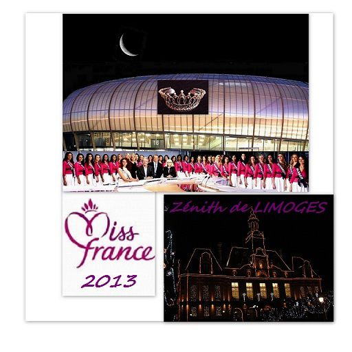 Election Miss France 2013 -a LIMOGES 08-12-2012