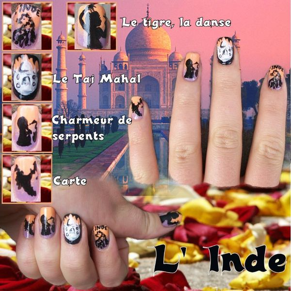 concours nail art inde