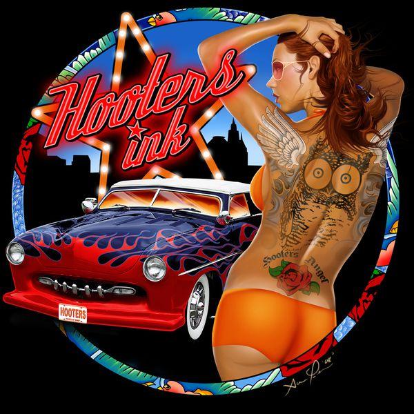 hooters ink by hardnox757