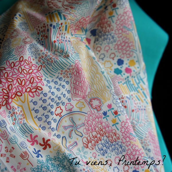 FB03 Tissu printemps