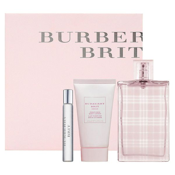 Body 5ml Burberry For Coffret Women Brit 50ml 7 Sheer Edt50ml Crem kZPXTiOuw
