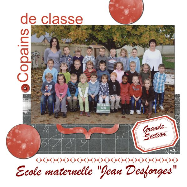 Photo de classe gs1 2012.2013
